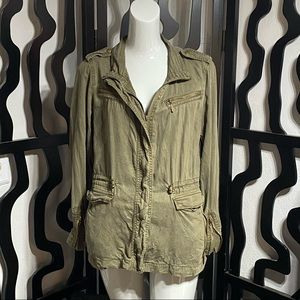 Max Jeans Green Jacket
